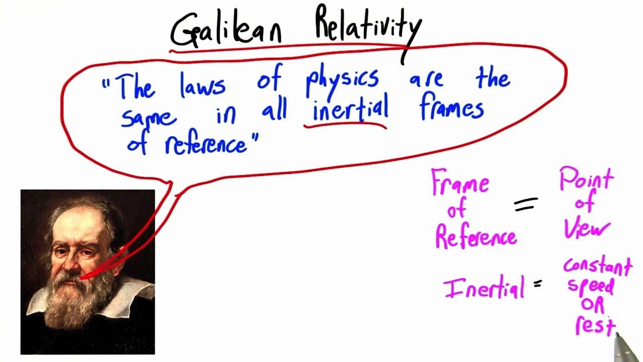Galileo Relativity