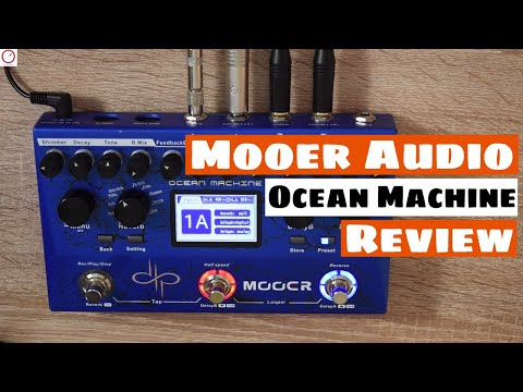 Best Affordable Delay Reverb Pedal! Mooer Audio Ocean Machine Review   SYNTH ANATOMY
