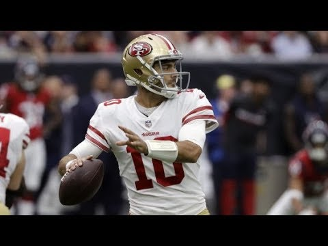 Jimmy Garoppolo San Francisco 49ers QB Film Review Vs Texans