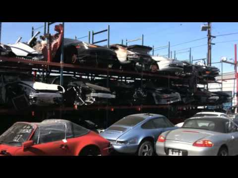 Ferrari California T >> Ferro Velho de Porsche - Porsche Junk Yard - YouTube