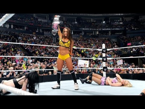WWE RAW 02.23.15 Paige & Emma vs. The Bella Twins (720p) thumbnail