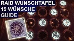 Destiny 2 Forsaken: Raid Wunschtafel 15 Wünsche Guide (Deutsch/German)