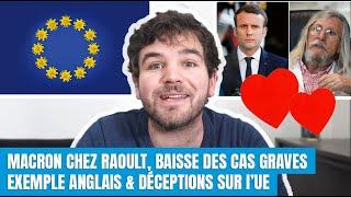Raoult et Macron, leçons d'Angleterre, mensonge d'Etat... - 6 news coronavirus du 10 avril