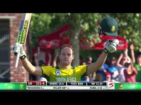 David Miller - Fastest T20 Century of all time vs Bangladesh