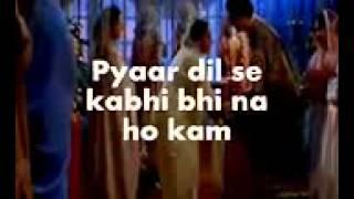 Kabhi Khushi Kabhi Gham Karaoke & Lyrics KKKG