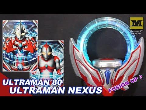 DX Orb Ring : NEXUS & Ultraman 80 (Complete Set EX)