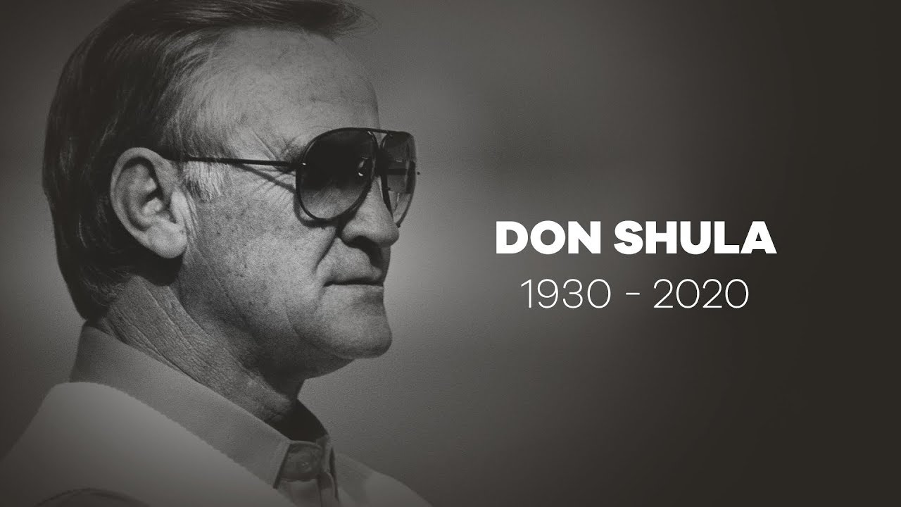 Prayers:  Only Man To Go Undefeated In The NFL, Don Shula Has Passed Age 90