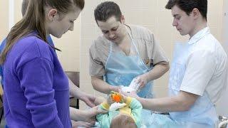 Сюжет в программе Доброе утро на Первом канале про лечение косолапости в Клинике Константа
