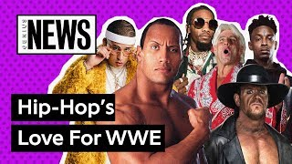 Hip Hop's Love For WWE | Genius News
