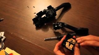 ремонт под рулевого переключателя, Passat B5+.