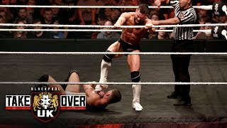 Finn Bálor wows the crowd by stomping Jordan Devlin: NXT UK TakeOver: Blackpool (WWE Network)