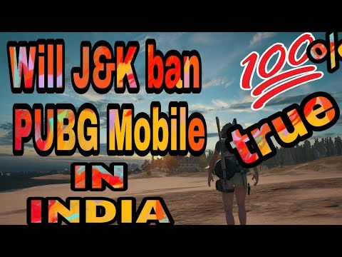 Will J&K ban PUBG Mobile after doctors , teacher and parents notice to government.|