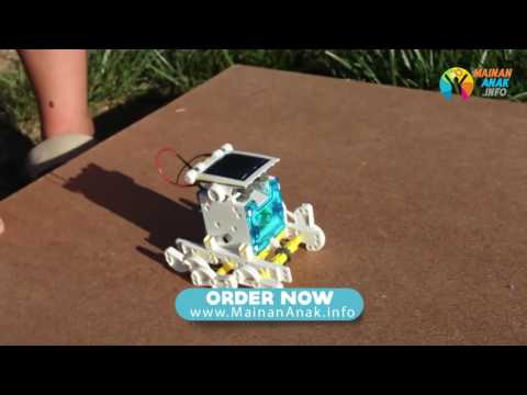 Toko Mainan Anak Edukatif Robot Tenaga Surya www.MainanAnak.info
