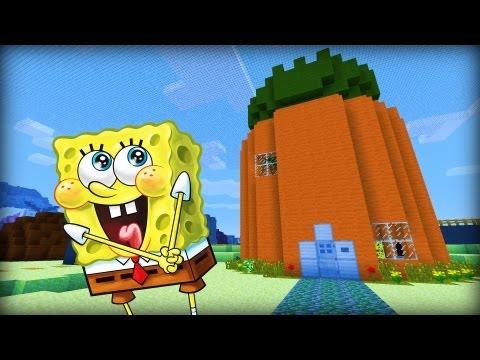 minecraft spongebob spiele