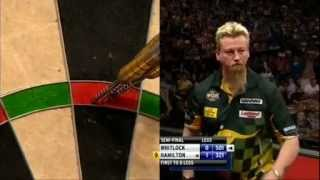 9 Darter Simon Whitlock 2012