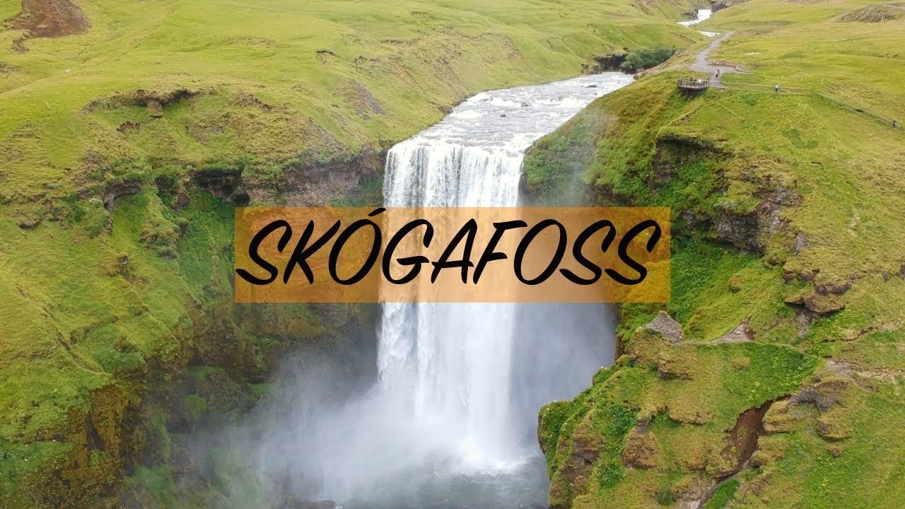 Skoógafoss & Reykjadalur by DRONE.