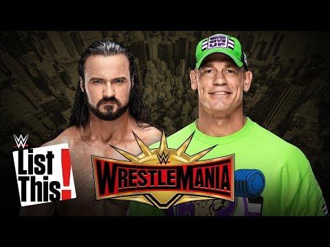 5 dream WrestleMania opponents for John Cena: WWE List This!