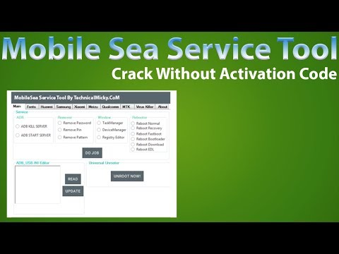 All In One Mobile Sea Service Tool Crack Setup   Multi Service Tool