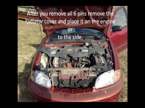 How To Change Front Turn Signal Of A 2000 Chevy Cavalier