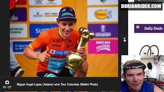 Tour Colombia Stage 6 Quintana Wins & Disc Brake Bikes Lose