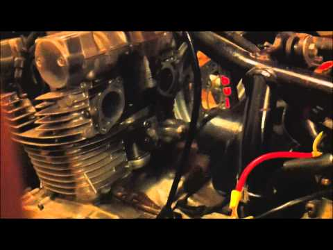 Using A Pushbutton Switch to Jumper the Starter Solenoid on a 1979 Suzuki GS 425L  YouTube