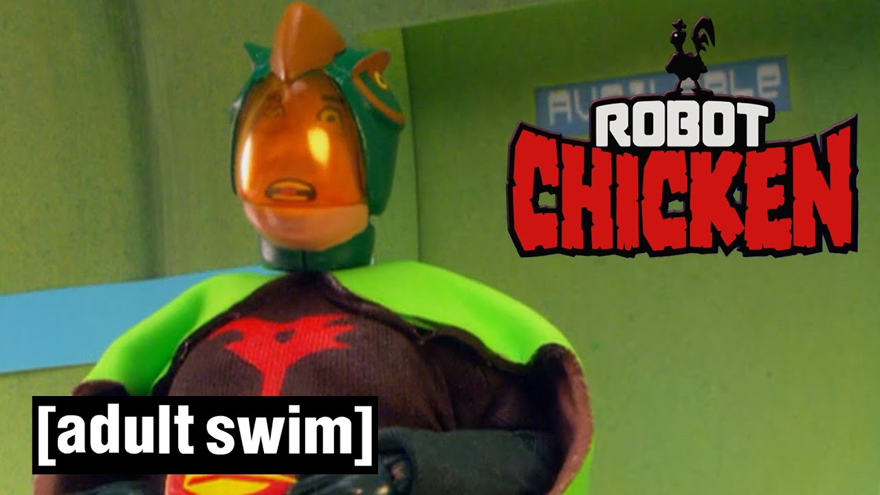Robot Chicken | Tiny's Big Problem | Adult Swim UK 🇬🇧