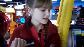VLOG Качели и аттракционы в ТРК Зимняя Вишня #Кемерово
