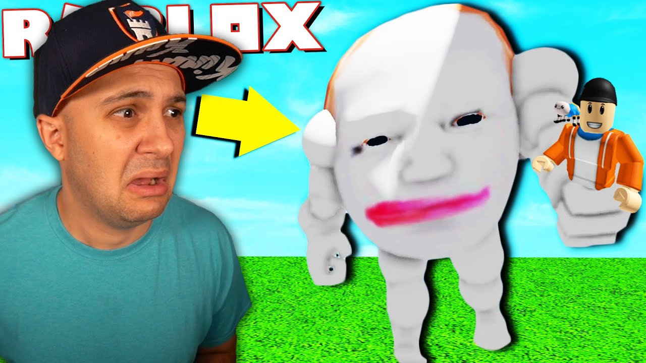 Download Escape The Creepy Running Head In Roblox!