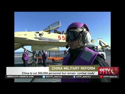 Captain Zhang Junshe on China's military reforms