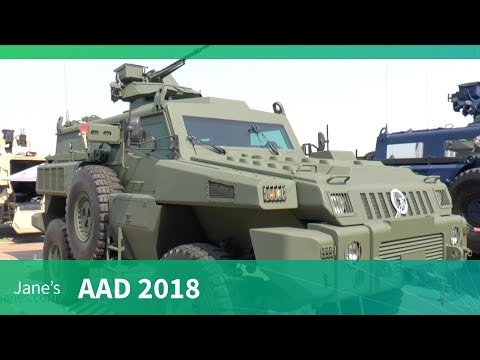 AAD 2018: Paramount Marauder mine-protected armoured vehicle