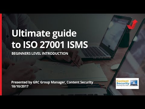 Beginners ultimate guide to ISO 27001 Information Security Management Systems