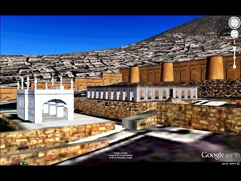 HISTORICAL PLACES OF AFGHANISTAN IN GOOGLE EARTH  PART  ONE  ( 1/3 )