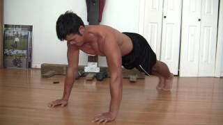 4  Minutes Easy Chest And Abs Workout