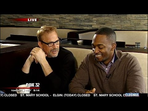 In the Booth with Kevin Costner and Anthony Mackie