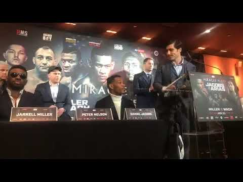 DANIEL JACOBS VS. LUIS ARIAS FINAL PRESS CONFERENCE