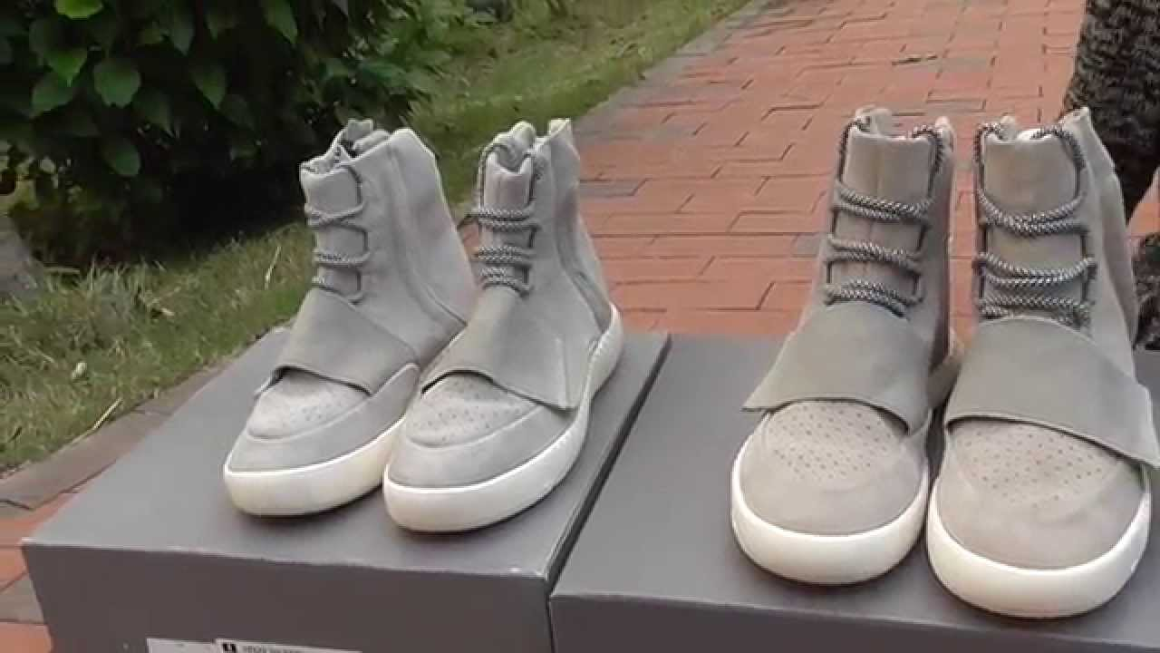 64e8e4b385709 adidas yeezy 750 boost real vs fake adidas yeezy 750 boost sneakers shoes