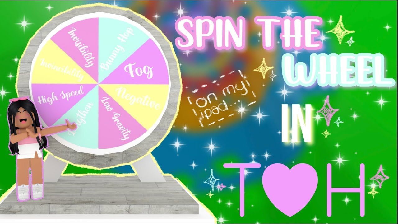 Download SPIN THE WHEEL CHALLENGE IN TOH! | Roblox ToH