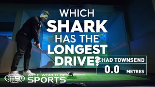 Which Shark has the best golf swing? | NRL on Nine