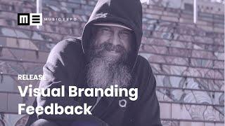 Visual Branding Feedback Session