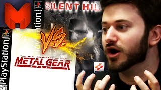 The BEST PS1 Games? Metal Gear Solid vs Silent Hill - Madness