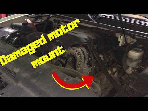 GM motor mount replacement
