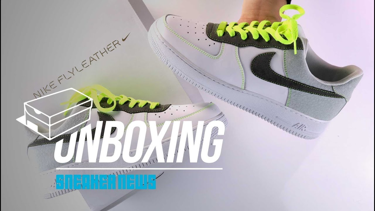 Air Force 1 Flyleather Custom Unboxing + Review  Only 1 of 1  - YouTube fba4646ad