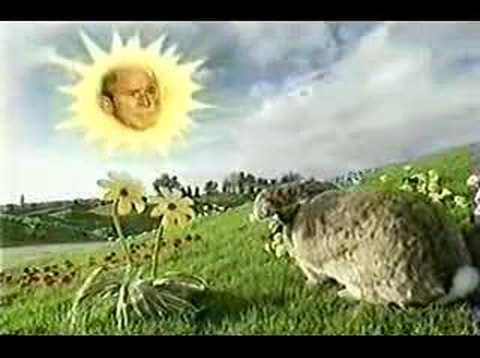 george bush does teletubbies youtube