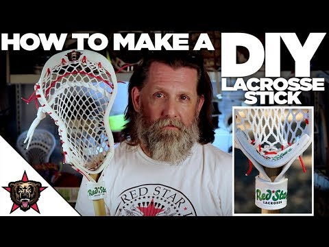 How to Make a Lacrosse Stick (Head)
