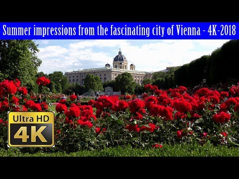 Summer impressions from the fascinating city of Vienna - 4K-2018