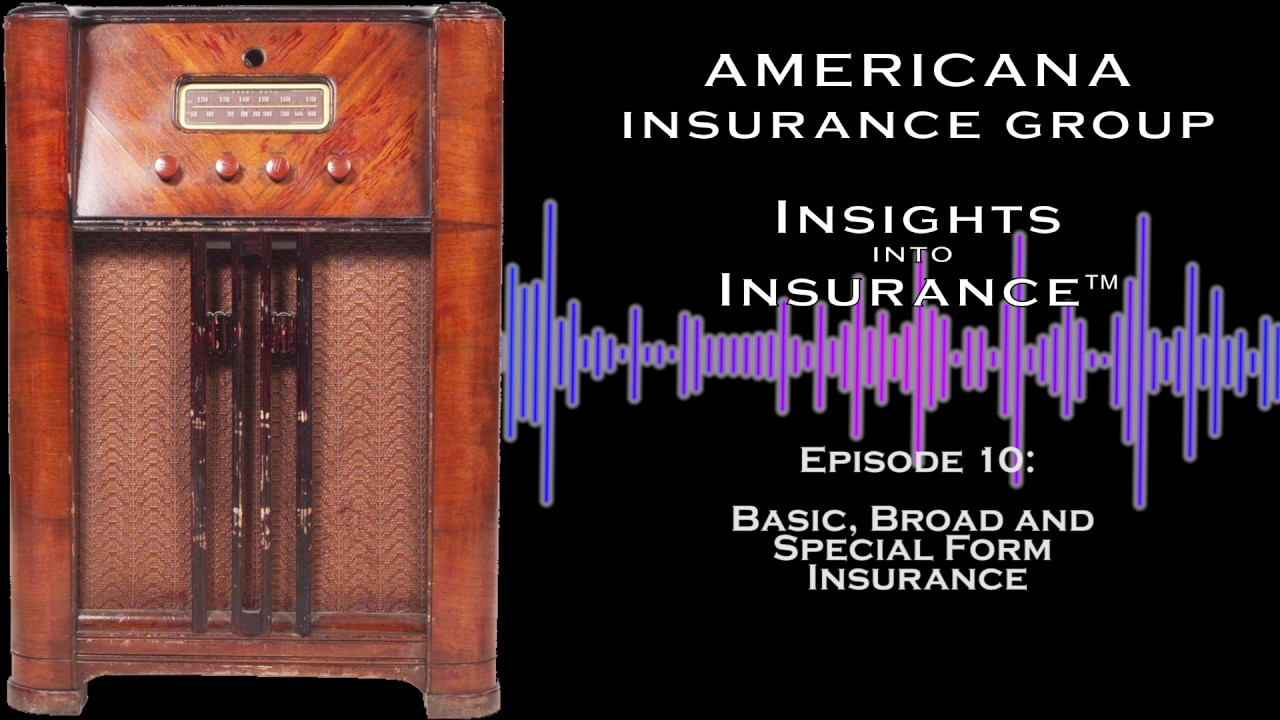 INSIGHTS INTO INSURANCE: Basic, Broad and Special Form Insurance ...