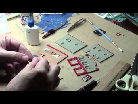 Assembling N Scale Building – 1 of 3