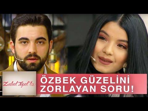 Zuhal Topal'la 169. Bölüm (HD) | Serkan, Özbek Güzeli Gülzade'ye Öyle Bir Soru Sordu ki...