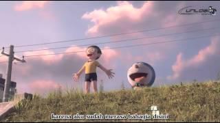 Motohiro Hata - Himawari no Yakusoku [Doraemon stand by me] Romaji with Indo