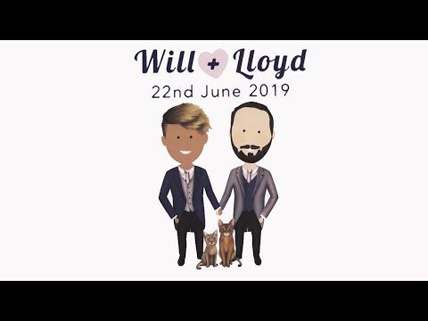 Lloyd & Wills Wedding 👨❤️👨 🌈🍾